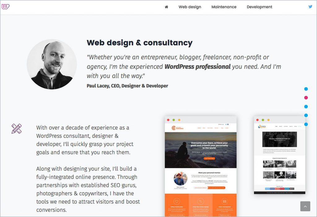 Pagebreak: Website Brand Copywriting