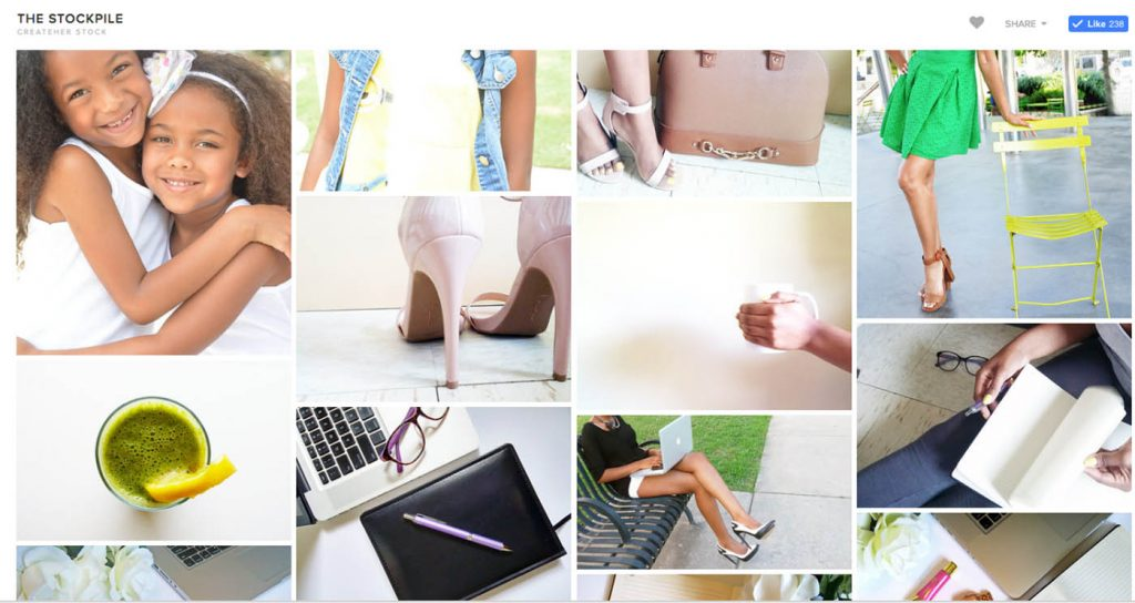 CreatHER: the best stock photos and inclusive imagery for websites, blogs