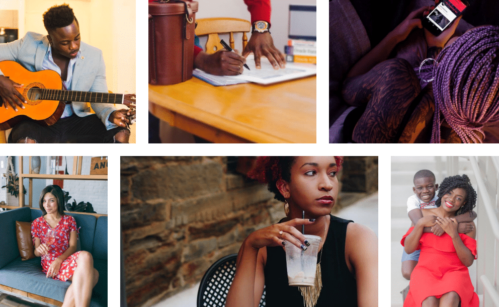 stock photography, diversity, people of color