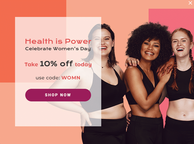 Women's Day Copywriting: Self Care healthy Women smiling